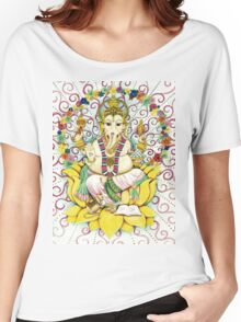 Ganesha Hindu elephant God - remover of obstacles Women's Relaxed Fit T-Shirt