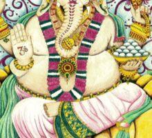 Ganesha Hindu elephant God - remover of obstacles Sticker
