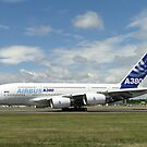 Airbus A380-861   F-WWDD by Barrie Woodward