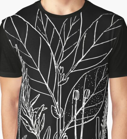 Britton And Brown Illustrated flora of the northern states and Canada 1294 Salix bebbiana Graphic T-Shirt