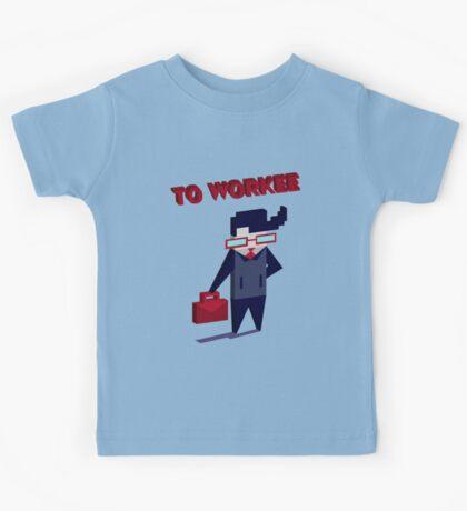 TO WORKEE Kids Tee