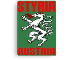 STYRIA, AUSTRIA Canvas Print