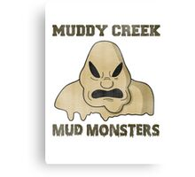 Muddy Creek Canvas Print