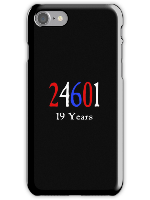 Les Miserables 24601 - 19 Years by Peter Vines