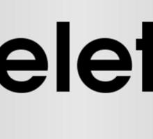 Keyboard Delete Key Sticker
