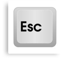 Keyboard Escape Key Canvas Print