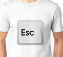 Keyboard Escape Key Unisex T-Shirt