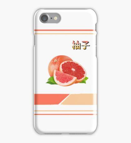 Peach Aesthetic tumblr grapefruit iPhone Case/Skin