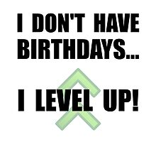 Level Up Birthday by TheBestStore