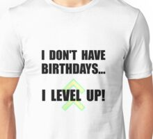 Level Up Birthday Unisex T-Shirt