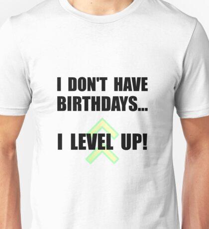 Level Up Birthday Unisex T-Shirt