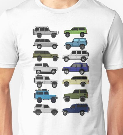 4x4 offroad Trucks Collection  Unisex T-Shirt