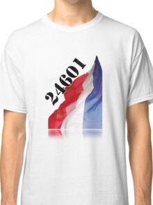 Les Miserables 24601  Classic T-Shirt