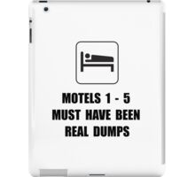 Motel Dump iPad Case/Skin