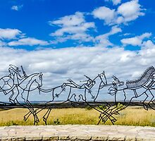 Spirit Warrior Indian Memorial by Debra Martz