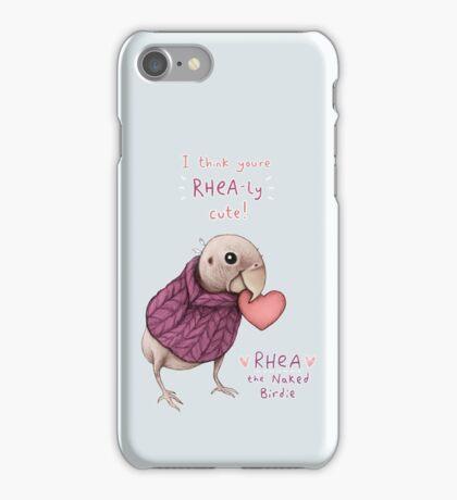 Rhea - Rhea-ly Cute! iPhone Case/Skin