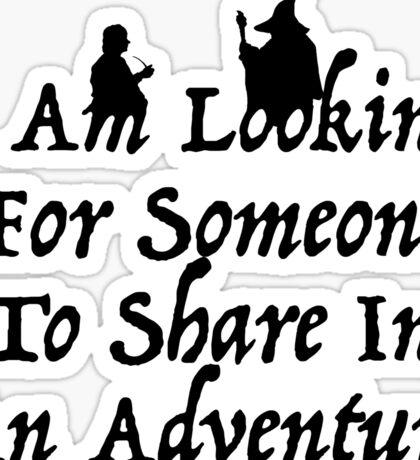 A Most Interesting Adventure Sticker