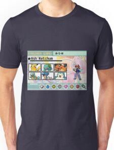 Ash Ketchum Kanto Team Unisex T-Shirt
