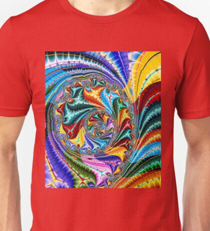 Rolling On The Rainbow Unisex T-Shirt