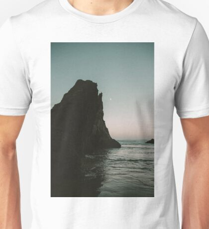 Oregon Coast Dark Ocean Unisex T-Shirt