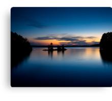 Burntside Lake Canvas Print