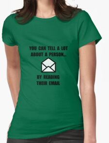 Read Their Email Womens Fitted T-Shirt