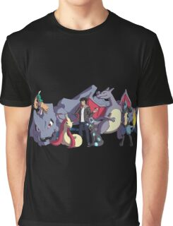 Pokemon Team Graphic T-Shirt