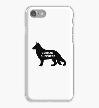 GS name silhouette iPhone Case/Skin