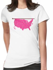 pussyhat USA Womens Fitted T-Shirt