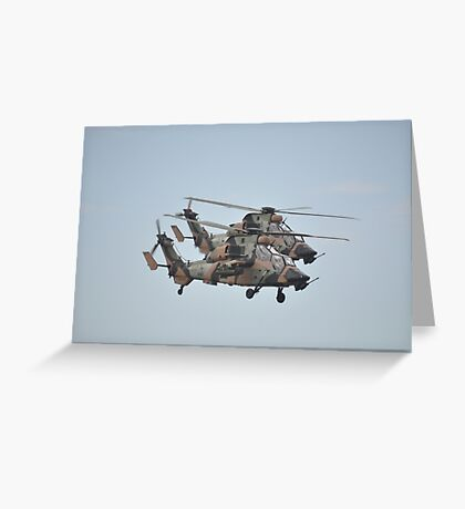 20150227 Avalon Airshow - Tiger formation A38-017, -014 Greeting Card