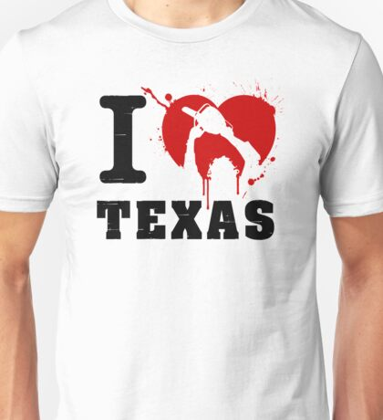 I Heart Texas Unisex T-Shirt