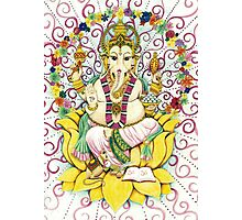 Ganesha Hindu elephant God - remover of obstacles Photographic Print