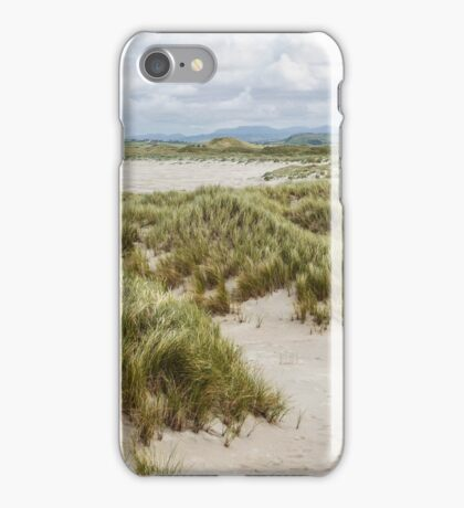 Foot Prints in the Sand - Maghera, Ireland iPhone Case/Skin