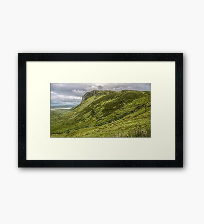 Mountain of Granny Pass - County Donegal, Ireland Framed Print