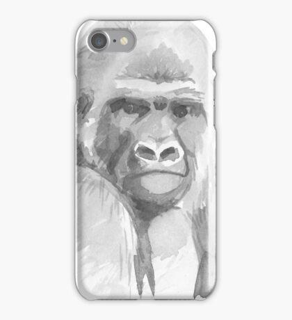 Gorilla. iPhone Case/Skin