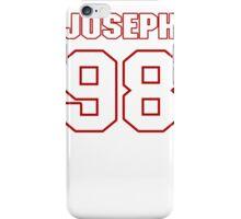 NFL Player Linval Joseph ninetyeight 98 iPhone Case/Skin