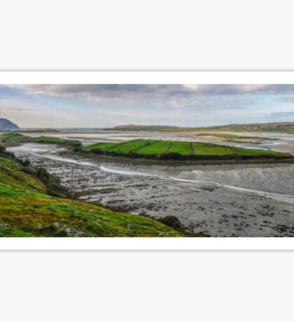 Tidal Maghera - County Donegal, Ireland Sticker