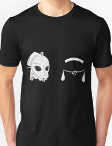 Glitch Hats Side-by-Side dead mask asia T-Shirt