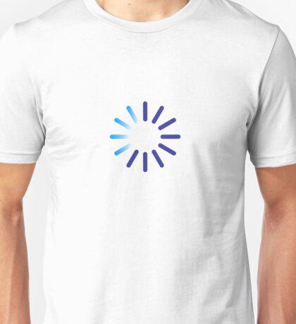 Progress indicator for a download Unisex T-Shirt