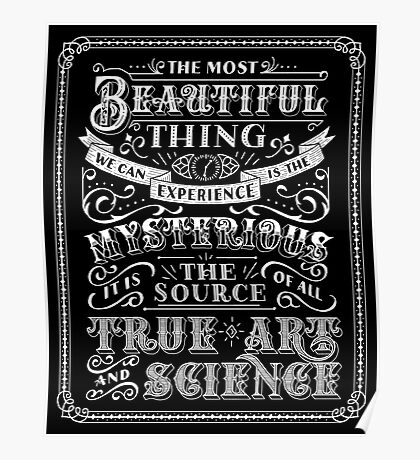 The Most Beautiful Thing Poster