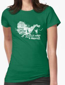 Yippee Ki Yay, Mr. Falcon Womens Fitted T-Shirt