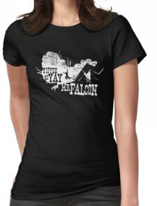 Yippee Ki Yay, Mr. Falcon Womens Fitted T-Shirt
