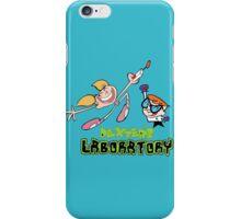 Dexter and dee dee - Dexters lab iPhone Case/Skin