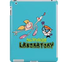 Dexter and dee dee - Dexters lab iPad Case/Skin