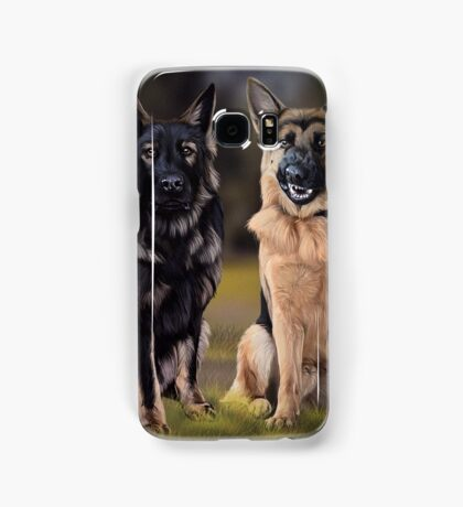 German Shepherd Dogs Samsung Galaxy Case/Skin
