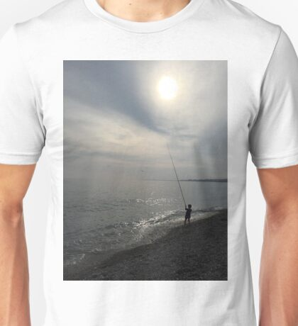 Catching a cloud, Cote d' Azur, French Riviera Unisex T-Shirt