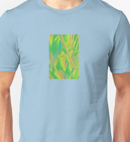 Butterfly scales (green shades) Unisex T-Shirt
