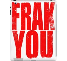 FRAK YOU (RED) iPad Case/Skin