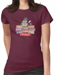 Hostess Fruit Pies (clean for dark shirts) Womens Fitted T-Shirt