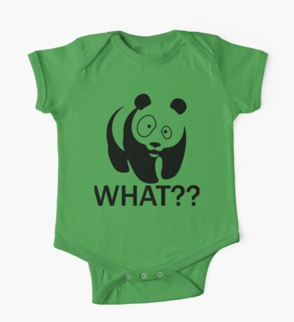 ask the panda One Piece - Short Sleeve